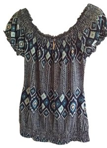 Lucky Brand Top Blue/Turquois