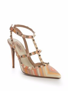 Valentino Orange-Multi Pumps