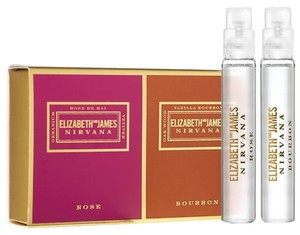 Elizabeth and James Nirvana Rose and Bourbon Matchbox deluxe sample (0.14oz/4ml each)