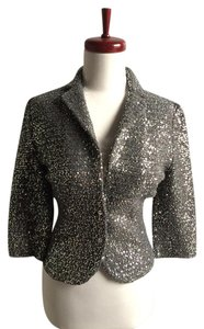 Iisli Silver Sequin Sweater gray Blazer