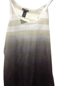New York & Company & Co Brand With Tags 2 Top Ombre white into grays