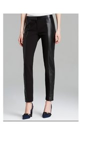 Tory Burch Stretch Trousers Slim-fit Trouser Pants Black