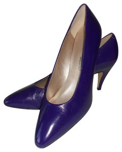 Bandolino Italian Leather Upscale Deep Comfortable DEEP PURPLE Pumps