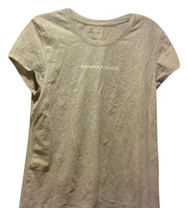 Banana Republic With Brblogo Like New Color T Shirt Gray
