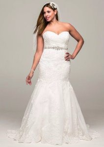 David's Bridal 9v3680 Wedding Dress
