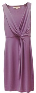 Boston Proper short dress Purple Cocktail Party Wedding Guest on Tradesy
