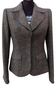 Escada Brownish-Grey Blazer