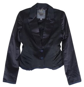 Zac Posen for Target Tuxedo Fitted Structured Black Blazer