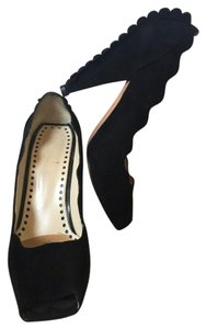 Saint Laurent Yves Pin-up Retro Suede Vintage Black Pumps