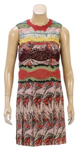 Valentino short dress Green/Multicolor on Tradesy
