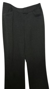 Calvin Klein Trouser Pants Gray/black tweed