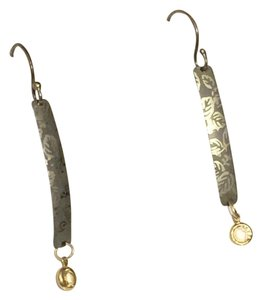 Holly Yashi Holly Yashi Dangle Linear Hook Cz Gold Earrings