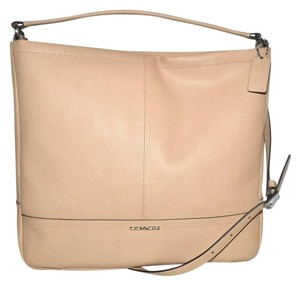 Coach Crossbody Leather Hobo Bag