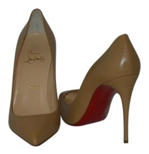 Christian Louboutin Brand New In Box BEIGE Pumps