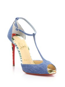 Christian Louboutin BLUE MULTI Pumps