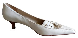 Ann Taylor Cream Tasse Pumps