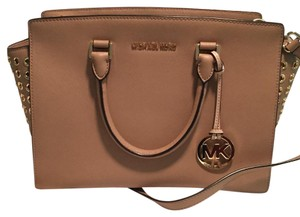 Michael Kors Satchel in Beige/Tan