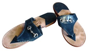 Stephen Bonanno Navy and silver Sandals