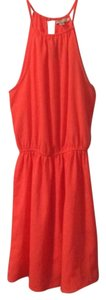 American Eagle Outfitters short dress Coral on Tradesy