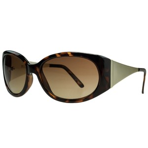 Michael Kors Michael Kors Light Havana Rectangular Sunglasses