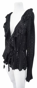 Betsey Johnson Crochet Knit Sweater