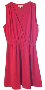 Monteau Los Angeles short dress Burnt orange on Tradesy