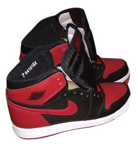 Air Jordan Sneakers Brand New Black/Red Athletic