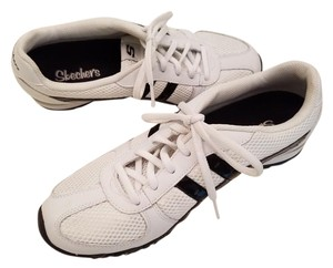 Skechers Sketchers White with Black Athletic