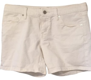 Mossimo Supply Co. Cuffed Shorts White