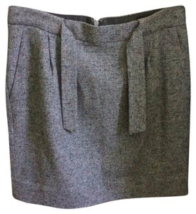 J.Crew Mini Skirt Gray/multi