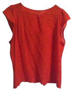 Madewell Top Orange