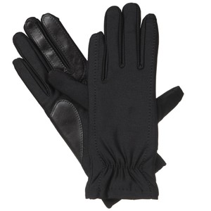 Isotoner Stretch Gathered Wrist smarTouch Lined Womens Gloves M L