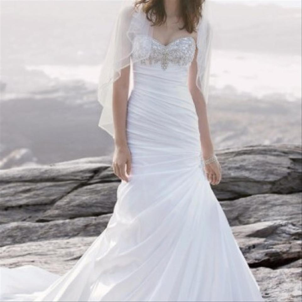 David's Bridal Mermaid Style Wedding Dress Wedding Dress