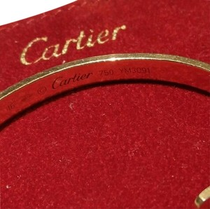 Cartier Cartier Rose Gold 16cm Love Cuff Bracelet