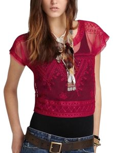 Free People Top Pink Orchid