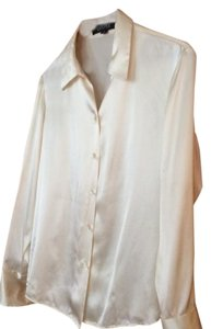 Kasper Button Down Shirt cream