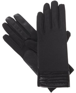 Isotoner Stretch Metallic Hem smarTouch Lined Womens Gloves S XS