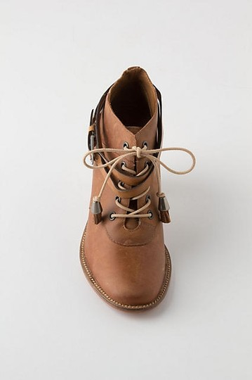 Anthropologie Brown Boots Image 2