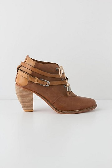 Anthropologie Brown Boots Image 4