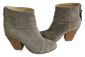 Rag & Bone Suede Classic Gray Boots