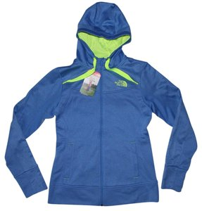The North Face Suprema Hoodie Coastline Blue Day Glow Yellow Jacket