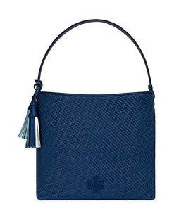 Tory Burch Tassle Woven Thea Britten Hobo Bag
