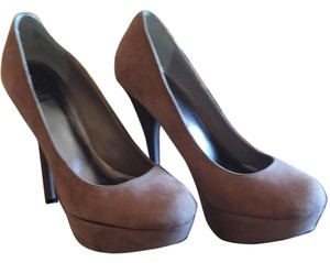 Bakers 69 Taupe Platforms