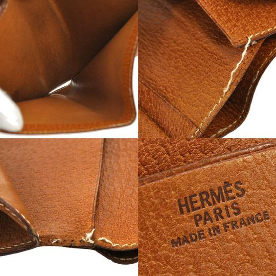 Hermès Bifold Leather Wallet