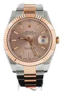 Rolex Rolex DATEJUST 41 ROSE GOLD/STAINLESS STEEL