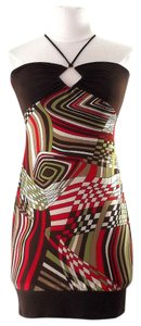 short dress Print Colorful Fun on Tradesy