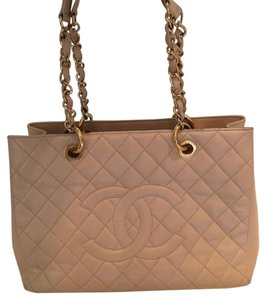 Chanel Tote in Nude Beige
