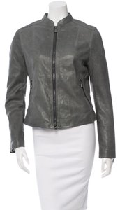 Coach Leather Spring Winter Leather Jacket