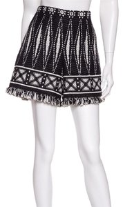 Tory Burch Shorts Black & White