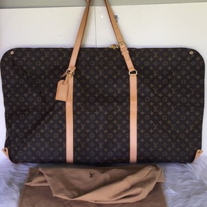 Louis Vuitton Lv Multi Way Lv Garment Brown Travel Bag